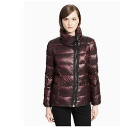 Calvin klein womens down asymmetric zip jacket