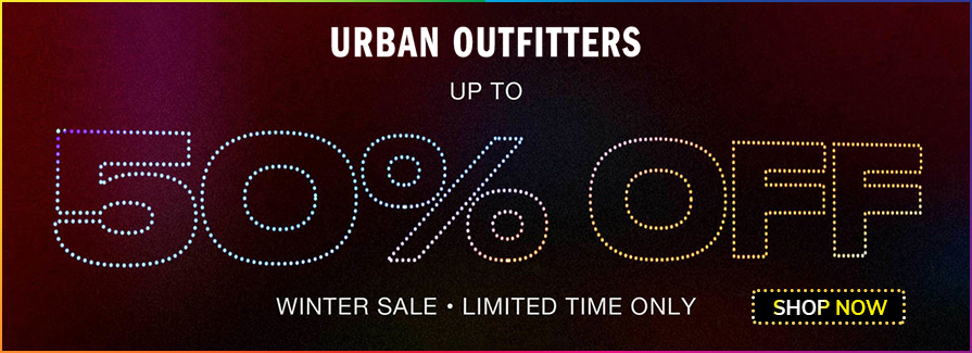 Winter Sale! Take up to 50% off