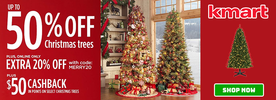 Take up to 50% off christmas trees...!!