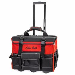 XtremepowerUS 18'' Rolling portable HD Portable Tool Bag