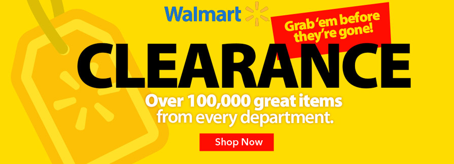 Shop Clearance At Walmart & Huge Savings On 1000s of clothing items.
