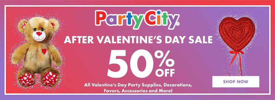 After Valentine's Day Sale! 50% Off