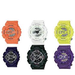Casio G-Shock Unisex S-Series Analog-Digital Multiple Colors Watch