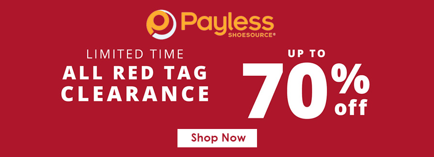 All Red Tag Clearance! Take up to 70% off