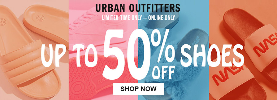 Take up to 50% off shoes..!!