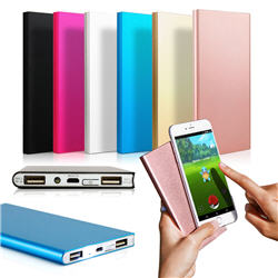 Ultra Thin 20000mAh Portable External Battery Charger Power Bank