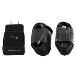 OEM Samsung Fast Charger with 2 USB-C Type C Cables
