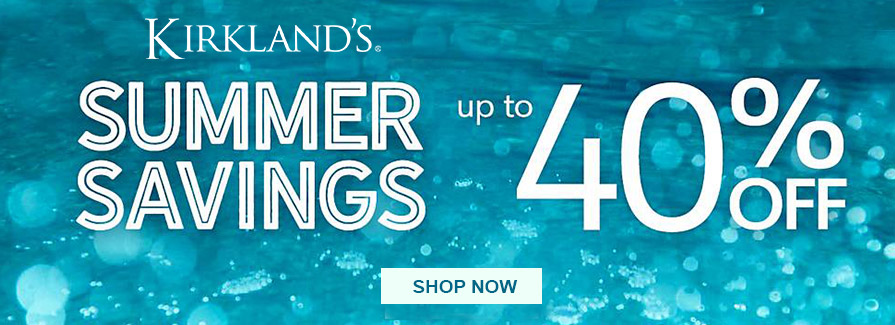 Up to 40% Off Summer Savings!