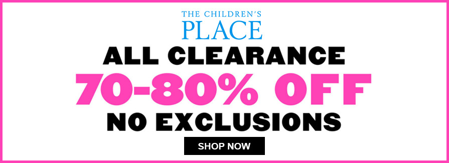 70-80% Off All Clearance