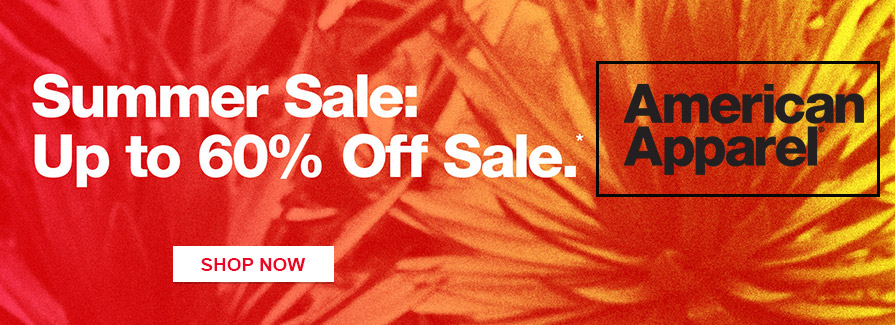 Summer Sale! Take up to 60% off sale + Free Standard Shipping..!!