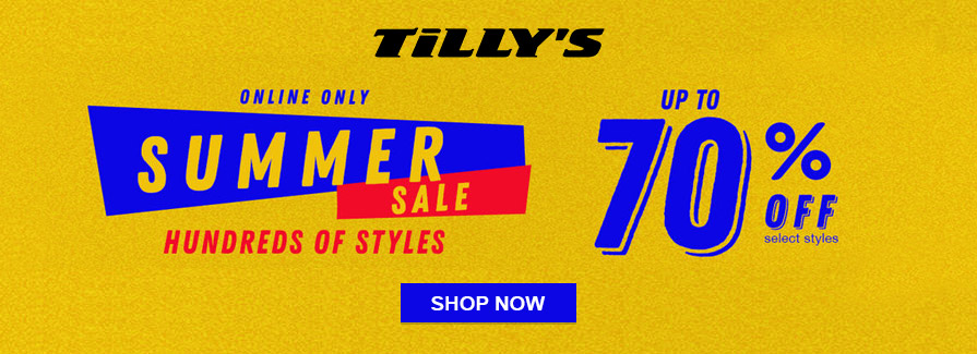 Summer Sale! Take up to 70% off select styles..!!