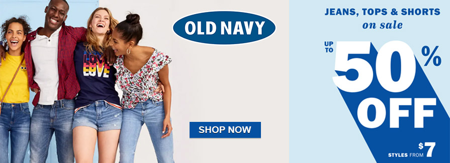 Jeans, Tops & Shorts On Sale! Take up to 50% off..!!