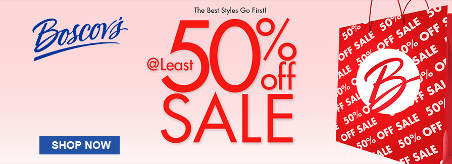 @ Least 50% off Sale!