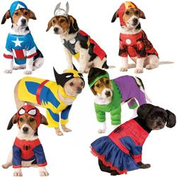 Superhero Pet Halloween Costumes