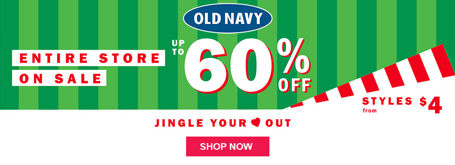 Entire Store On Sale! Take Up to 60% off | Styles from $4.... Jingle Your Out..!!