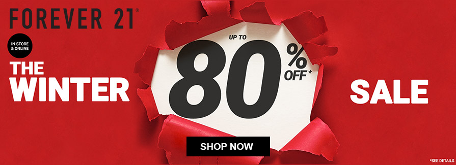 The Winter Sale! Take up to 80% off..!!