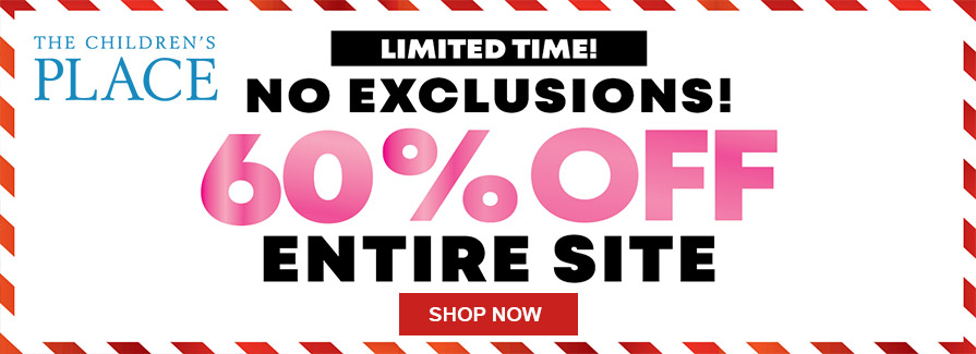 60% Off Entire Site!