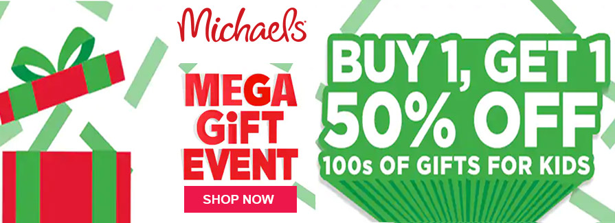 Mega Gift Event! Buy 1 Get 1 50% off 100s of Gifts For Kids..!!