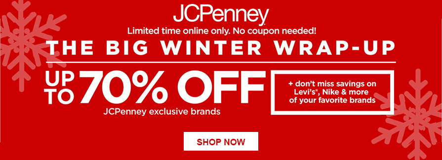 The Big Winter Wrap-Up! Take up to 70% off