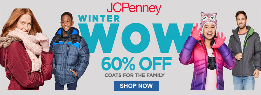Winter Wow! Take 60% off coats for the family..!!