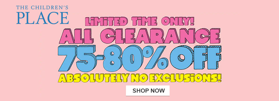 Take 75-80% off all clearance..!!