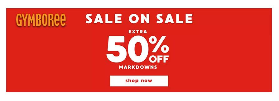 Sale On Sale Extra 50% Off