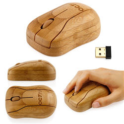 Bamboo Wireless Optical Mouse