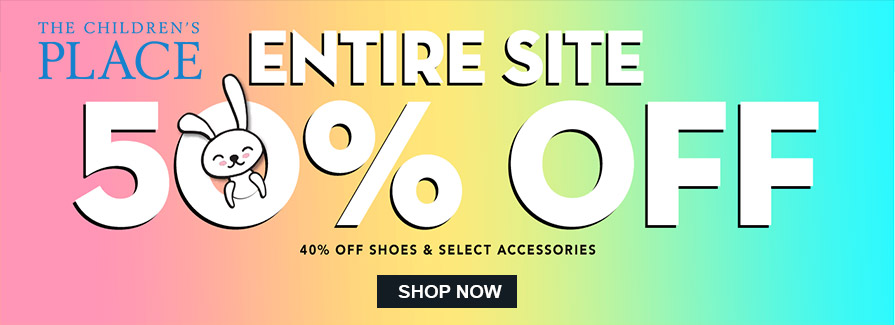 Take 50% off Entire Site | 40% off shoes & select accessories..!!