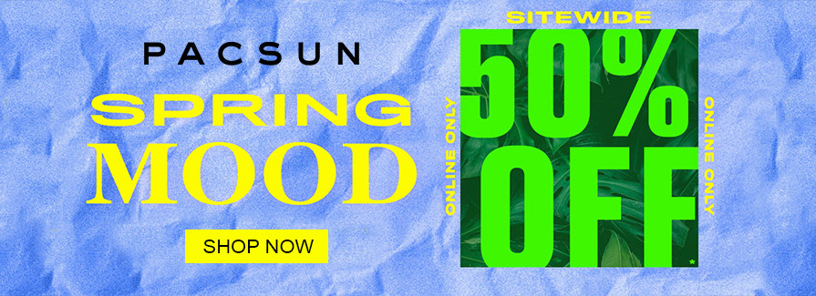Spring Mood! Take 50% off sitewide...!!