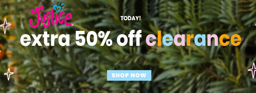 Take extra 50% off CLEARANCE..!!