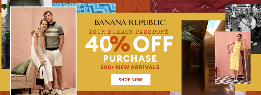 Take 40% off your purchase 500+ New Arrivals