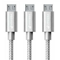 3x 6FT Durable Quick Charge Micro USB Cable