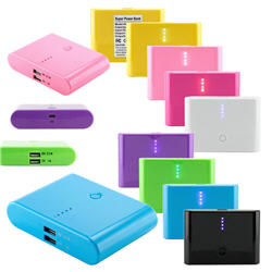 12000mAh Double USB Portable External Battery Power Bank Charger