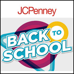 Shop For Back To School Deals From JCPenney