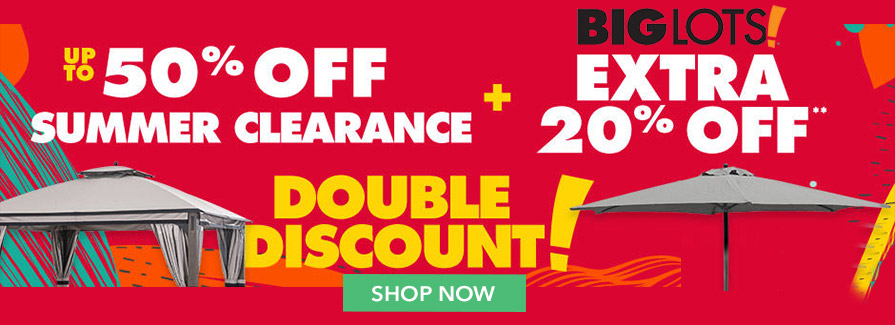 Take up to 50% off summer clearance + Extra 20% off