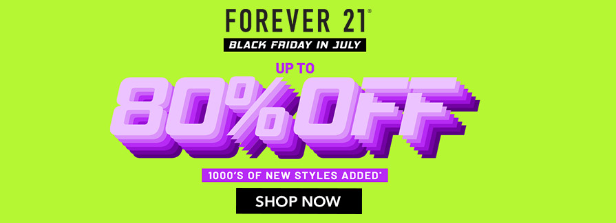 Black Friday In July! Take up to 80% off 1000's of new styles added