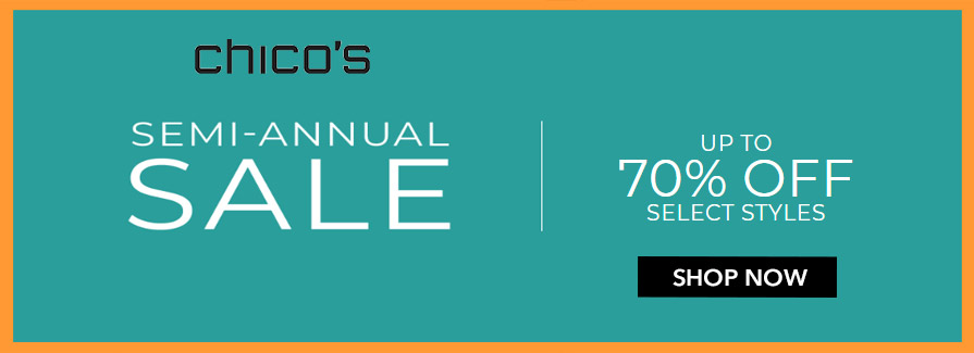 Semi-Annual Sale! Take up to 70% off select styles