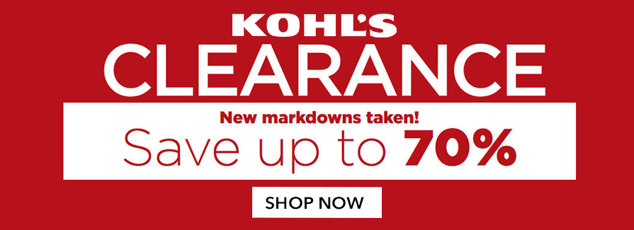 CLEARANCE! New Markdowns Taken - Save up to 70%..!!