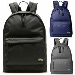Lacoste Men's Polyester Adjustable Backpack