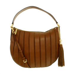 Michael Kors Women's Large Brooklyn Applique Convertible Suede Leather Top-Ha...