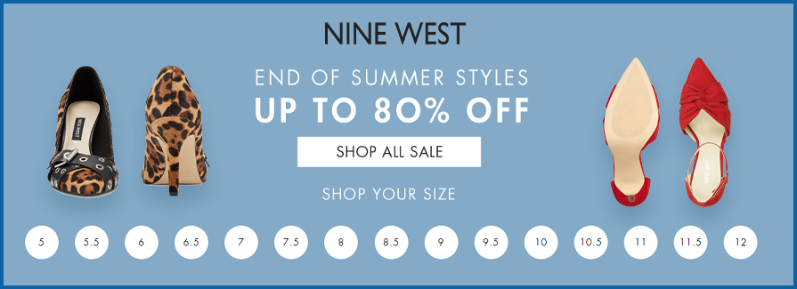 Up to 80% Off End of summer styles