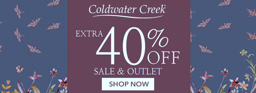Fall Sale! Take an extra 40% off sale & outlet For savings up to 60%