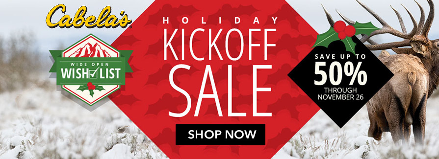 Holiday Kickoff Sale! Save up to 50%