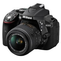 Nikon D5300 24.2 MP CMOS Digital SLR Camera w/ Nikon 18-55mm VR II AF-S DX Lens