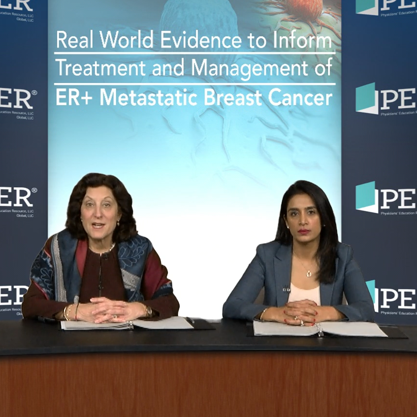 Real-World Evidence to Inform Treatment and Management of ER+ Metastatic Breast Cancer