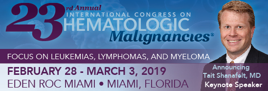 23rd Annual International Congress on Hematologic Malignancies