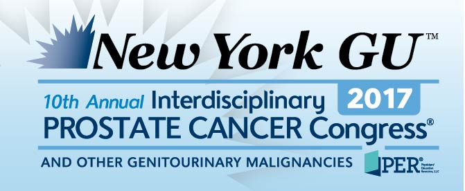 New York GU&trade;: 10th Annual Interdisciplinary Prostate Cancer Congress<sup>&reg;</sup> and other Genitourinary Malignancies
