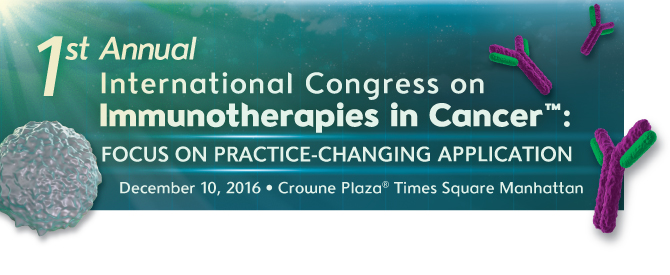 1st Annual International Congress on Immunotherapies in Cancer