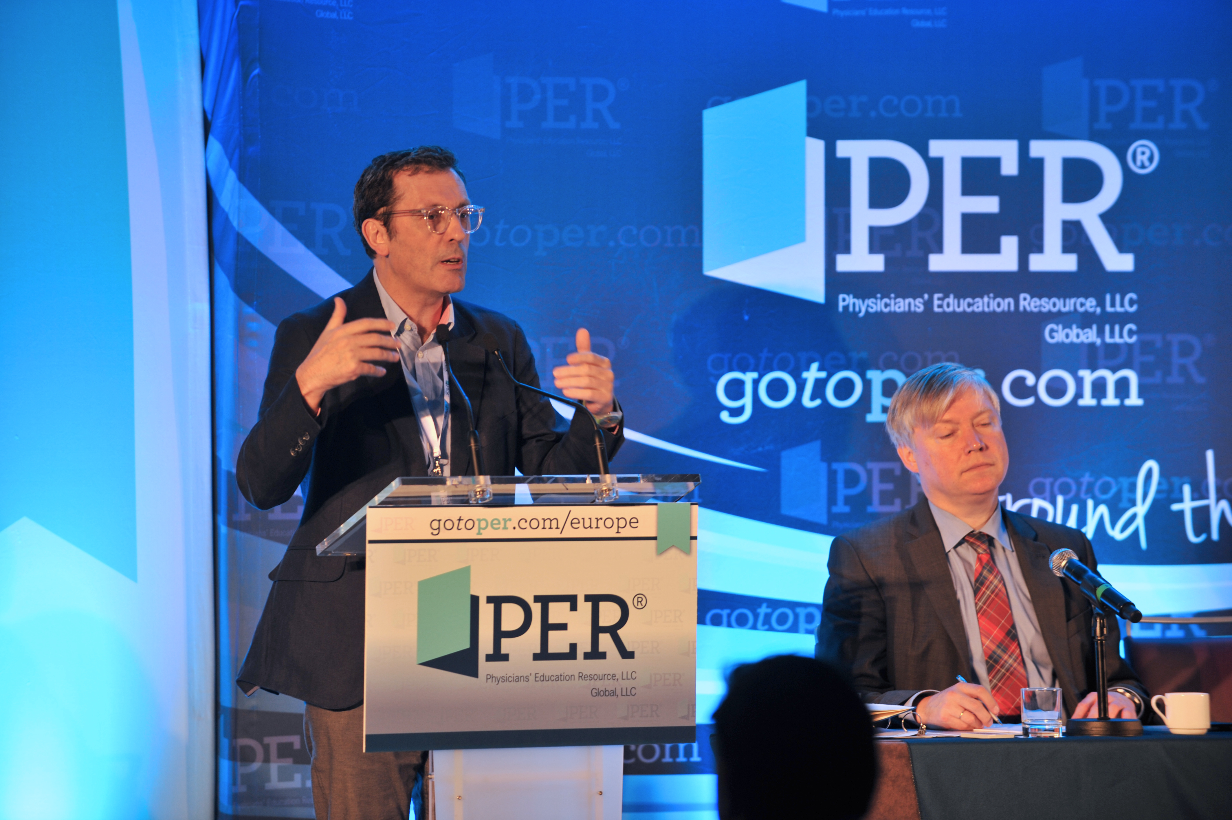 Luis Paz-Ares, MD, PhD; Prof. Dr. med. Martin Reck