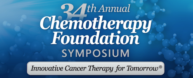 34th Annual Chemotherapy Foundation Symposium